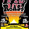 2014 Pig Roast Poster