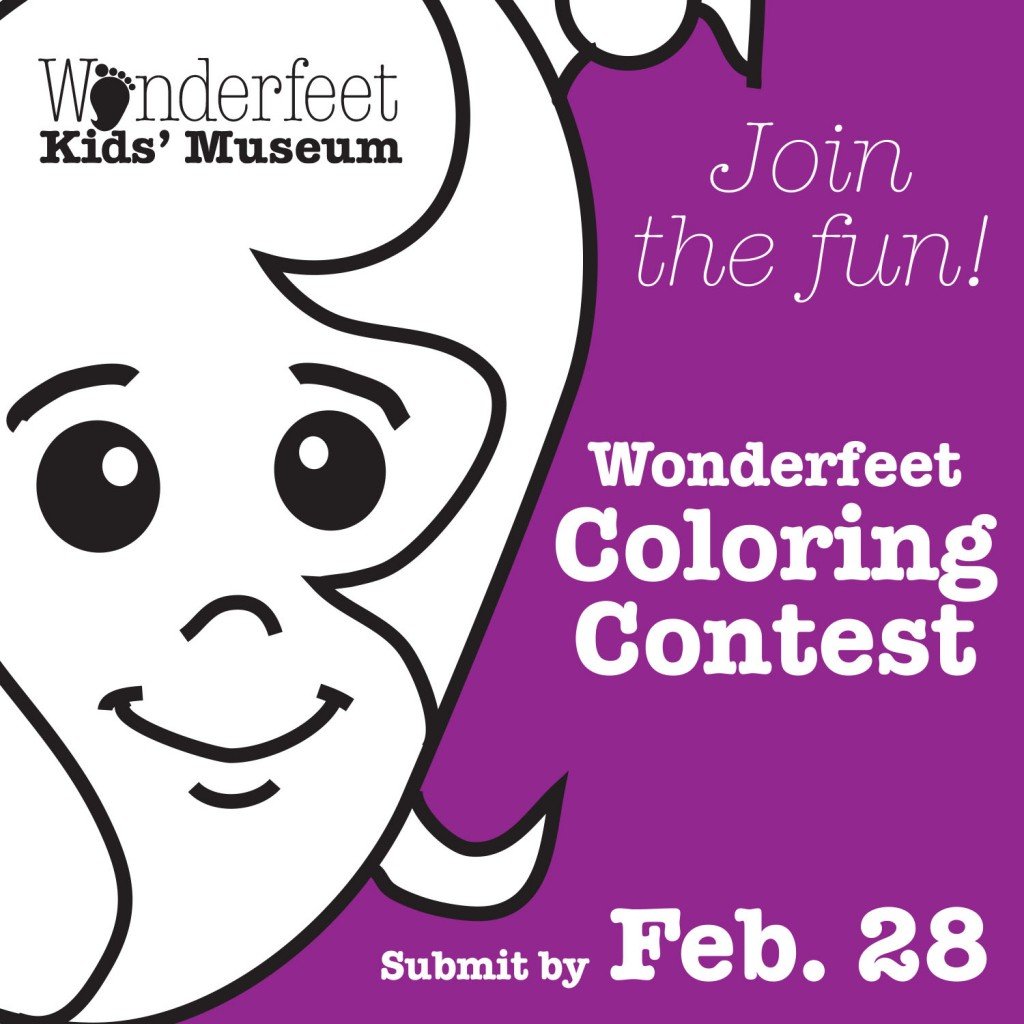 Wonderfeet Coloring Contest | Wonderfeet Kids Museum