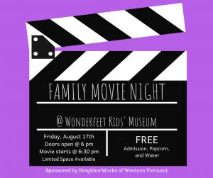 Family Movie Night - FREE