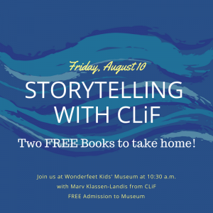 Storytelling with CLiF - FREE @ Wonderfet Kids' Museum | Rutland | Vermont | United States