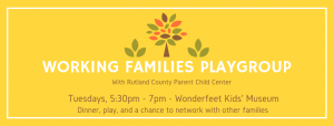 Working Families Playgroup @ Wonderfeet Kids' Museum