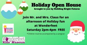 Holiday Open House with Santa and Mrs. Claus
